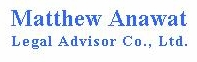 Matthew Anawat Legal Advisor Co., Ltd. - 62 x 197