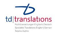 td translations - 125 x 200