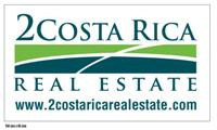 Logo of 2 Costa Rica Real Estate - 120 x 200