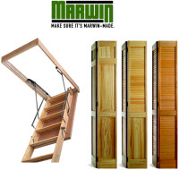 Marwin company attic door