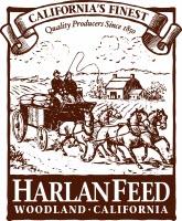 Harlan Sun-cured Alfalfa & Blended Hay Cubes Logo